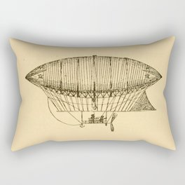 Airship Rectangular Pillow