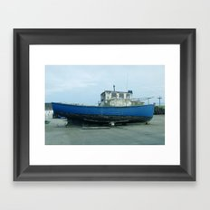 Dry Dock Framed Art Print