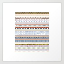 Stamp Me Art Print