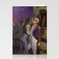 les mis Stationery Cards featuring Les Misérables by Bread Sports