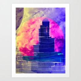 Luminescence Testing Station 12-08-16 Art Print