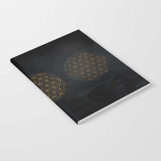 Flower of life illustration Notebook