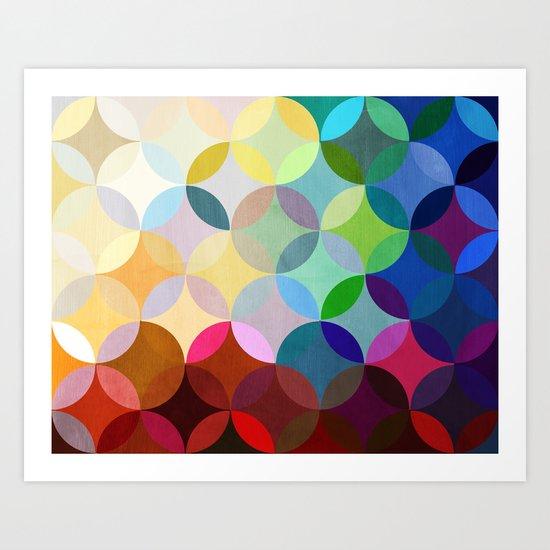 Circular Motion Art Print
