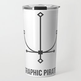 Graphic Pirate Travel Mug
