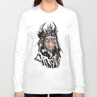 medicine Long Sleeve T-shirts featuring Medicine Man by Adam Levene
