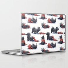 Wolf & Hoodie Laptop & iPad Skin