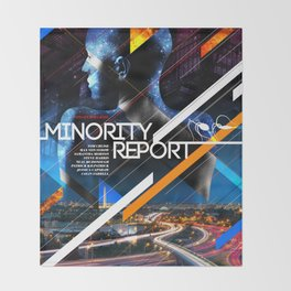 Visions of the Future :: Minority Report Throw Blanket