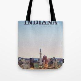 Visit Indiana Tote Bag