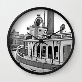 Savannah Steamboat Wall Clock