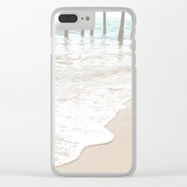 Huntington Beach Wave // California Ocean Sandy Beaches Surf Country Pacific West Coast Photography Clear iPhone Case