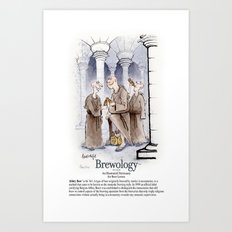 Abbey Beer Art Print