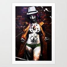 Whoreshack Art Print