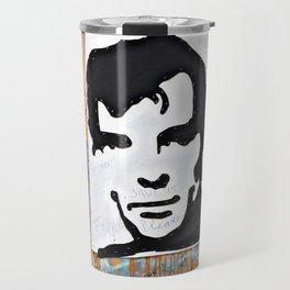 """HERE'S TO THE CRAZY ONES""/Jack Kerouac Travel Mug"