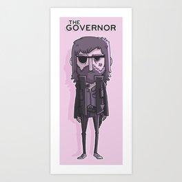 The Governor Art Print