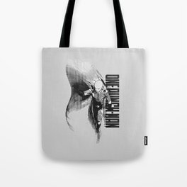 The most powerful hero alive - Black&White Tote Bag