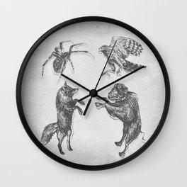 Paper Dance Wall Clock