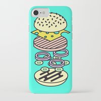 burger iPhone & iPod Cases featuring Burger by Jan Luzar