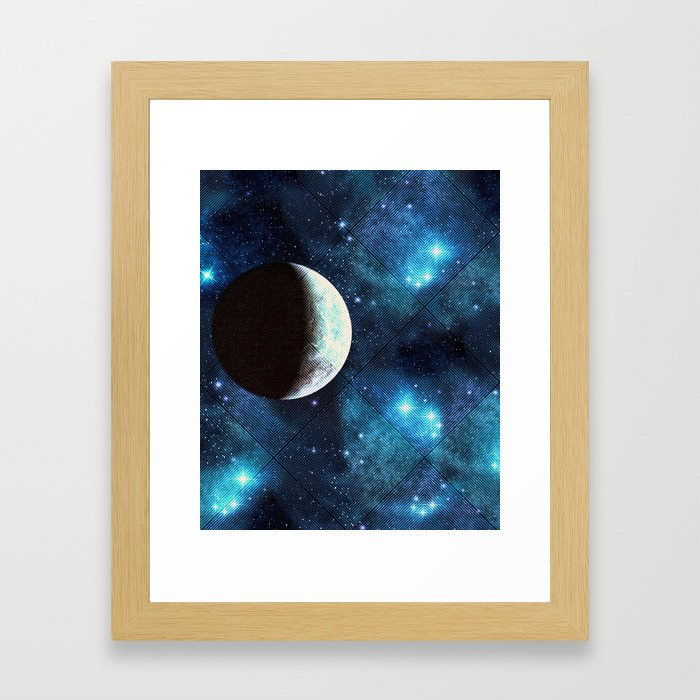 Moonbeam Framed Art Print