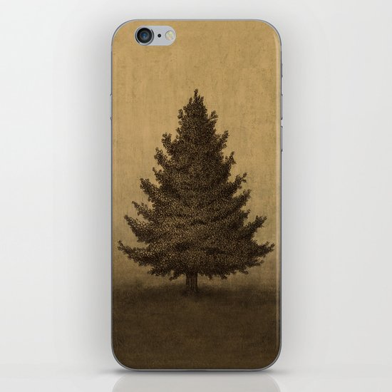 Lonely Pine  iPhone & iPod Skin