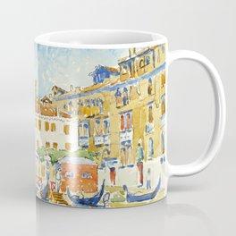 """Henri-Edmond Cross """"VENISE, L'ÉGLISE SAN MOISÈ"""" Coffee Mug"""
