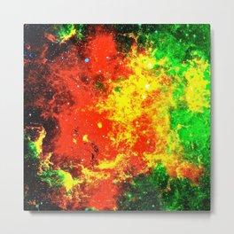Nebular Fire Metal Print