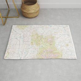 MT Ringling 268455 1993 topographic map Rug