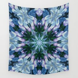 Snowflake Flower Wall Tapestry