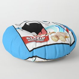 Glazed Mini Donuts Floor Pillow