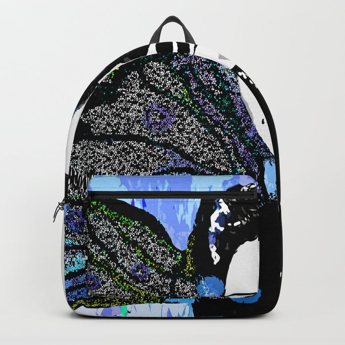 5a070eb708 Billie Holiday Backpack by saundramyles