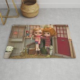 Erregiro Blythe Custom Doll Play Garden Rug