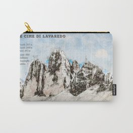 Drei Zinnen, South Tyrol Italy Carry-All Pouch