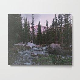 Glacier Gorge Sunrise Metal Print