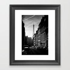Any Corner In Paris Framed Art Print