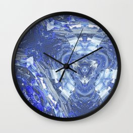 Blue Lagoon Wall Clock