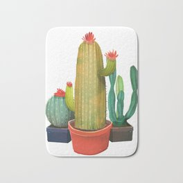 New Pocket Cactus Bath Mat