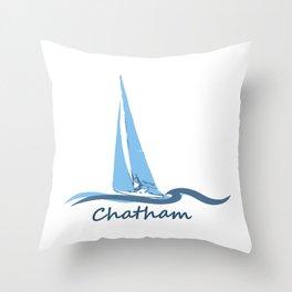 Chatham, Cape Cod Throw Pillow