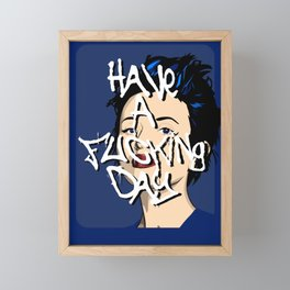 Have a Day Framed Mini Art Print
