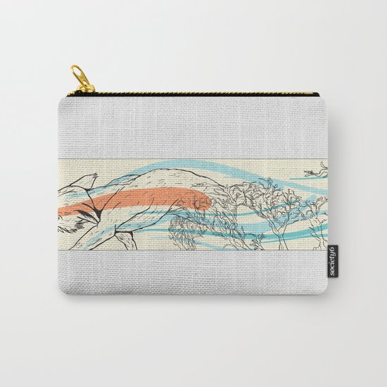 Bramble Fox Carry-All Pouch