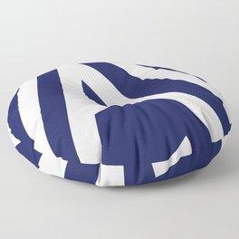 Nautical Stripes Floor Pillow