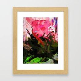 Rose Romantica Pink Flower Maelstrom Framed Art Print