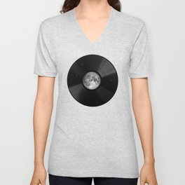 Moon song Unisex V-Neck