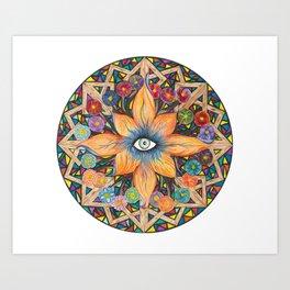 Shards of Love Art Print