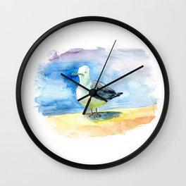 Dumb seagull Wall Clock