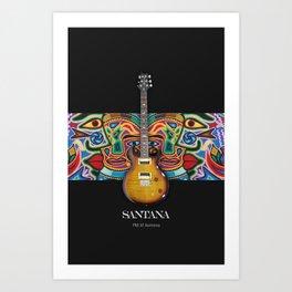 Santana Gutiar Art Print