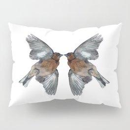 butterfly birds Pillow Sham