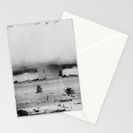 Atomic Bomb Mushroom Cloud Operation Crossroads Baker Test Stationery Cards