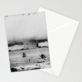Atomic Bomb Mushroom Cloud Operation Crossroads Baker Test Stationery Cards