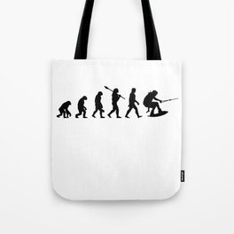 Waterskiing wakeboarding Tote Bag
