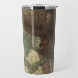 Vintage Sloth Painting (1909) Travel Mug