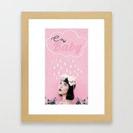 melanie martinez crybaby edit Framed Art Print